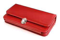 Leather Women's Wallet with a strap VOOC PPD1