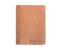 Slim Wallet Brodrene Light Brown