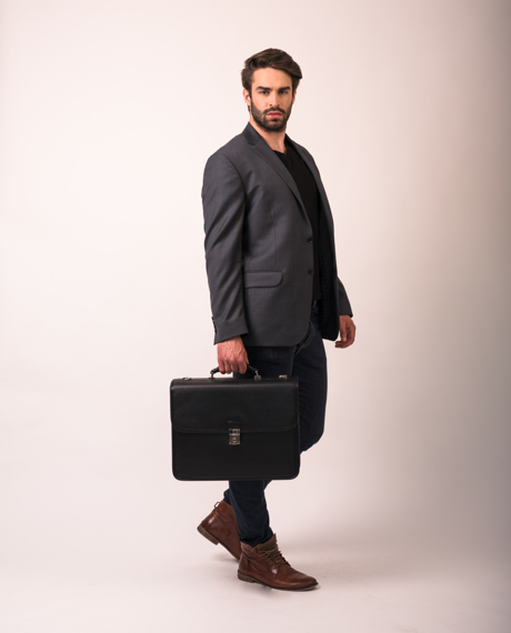 "15.6"" Double Compartment Laptop Case Mcklein Ashburn"