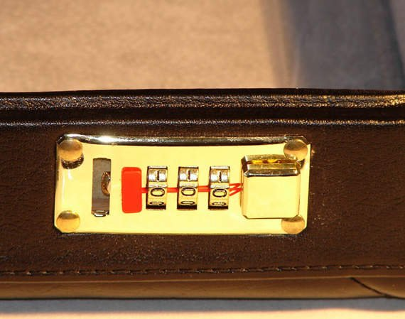 Leather Attache Case Mcklein Reagan
