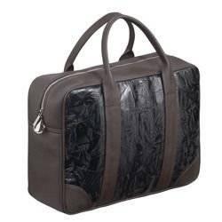 """Brązowa Torba biznesowa na laptopa 15,6"""" na ramię Sempertus"""