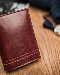 Portfel w kolorze bordowym męski skórzany Always Wild® N20194-VTK-D WINE