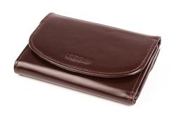 301b33eb5167a Praktyczny portfel damski o doskonałym wykończeniu, kolor: brązowy