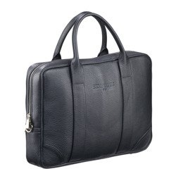 "Skórzana torba biznesowa na laptopa 15,6"" na ramię skóra naturalna Sempertus"