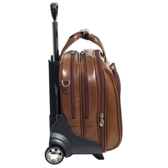 """Brązowa torba podróżna Midway 17"""""""