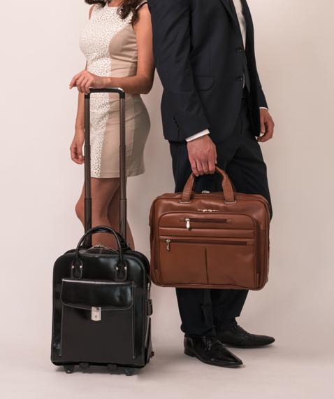 "Damska torba z odpinanym wózkiem La Grange na laptopa 15,6"""