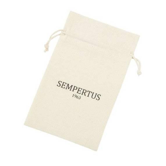 Identyfikator do bagażu zawieszka adresatka skóra naturalna Sempertus
