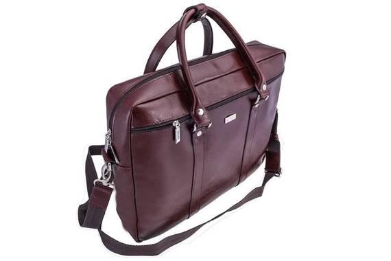 "Skórzana torba na ramię laptopa 17"" Solier SL03 KILBRIDGE"