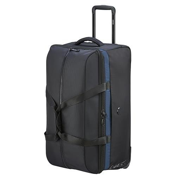 Średnia torba podróżna Walizka Delsey EGOA 69 cm czarna
